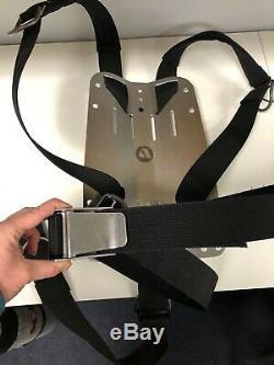 APEKS backplate with harness