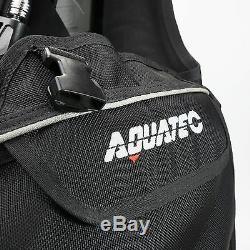AQUATEC Scuba Diving BC BCD Buoyancy Compensator Scuba Dive Gear BC-25 size L