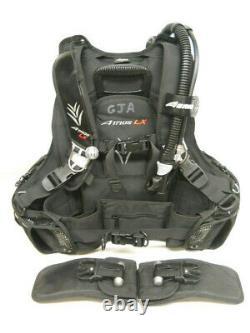 Aeris Atmos LX BCD, Medium, hybrid Jacket Style, scuba diving pro bc md med m bc
