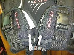 Aeris EX Lite Travel BCD, Black Large