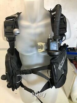 Ap Valves Buddy BCD Stab Jacket Diving Scuba Size Small Auto Air Black