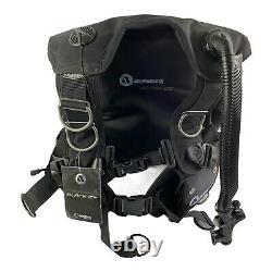 Apeks Black Ice BCD Wrapture harness system Small-med. Black Scuba & Freediving