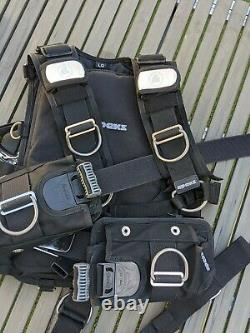 Apeks WTX Harness Large, Scuba Diving Upgraded with extras included