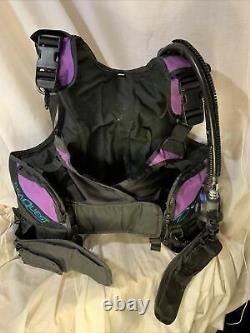 AquaLung Diva QD BCD Med Weight Integrated SeaQuest Womens with Airsource