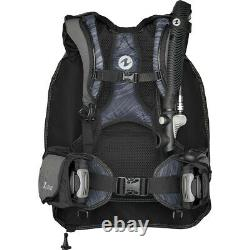 AquaLung Zuma BCD, black, sizemed. /large. Lightly used just 2 dives