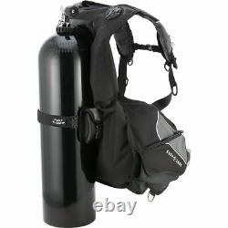 Aqua Lung Axiom i3 BCD with Fast Lock System (XXL, Black/Charcoal) BC1310101XXL