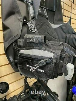 Aqua Lung Dimension i3 Back-Inflate BCD New Size Men's ML Wrapture Harness