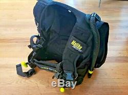 Aqua Lung Malibu RDS Dive Vest BCD integrated weight with Hose SMALL FREE SHIP