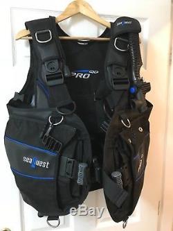 Aqua Lung PRO QD scuba diving buoyancy jacket size L