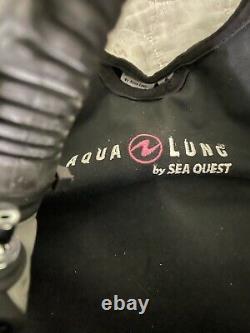 Aqua Lung Pearl BCD Scuba Dive Diving Ladies Fits like S Pink