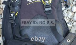 Aqua Lung Seaquest Malibu Buoyancy Compensator BCD Medium/Large NO RESERVE