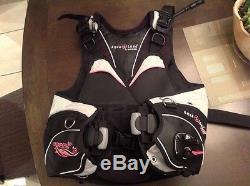 Aqualung Pearl i3 Scuba Diving Women's BCD Pink M / L # 395283