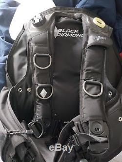 Aqualung/Seaquest Black Diamond Scuba BCD Size XL
