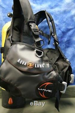 Aqualung Wave BC Size Large, Oceanic Regs, DataMax Sport Computer
