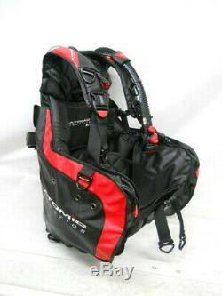 Atomic BC1 BCD with SS1 Inflator, Large, Red & Black, scuba pro diving vest bc