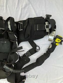 BCD Scuba Diving Deep Outdoors Integrity Backplate with Atomic Aquatics SS1