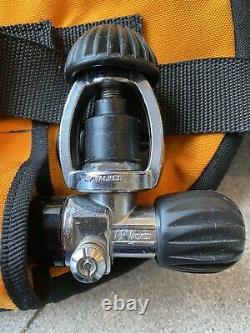 Buddy Double Gold ABLJ Vintage SCUBA Buoyancy Compensator Time Warp condition