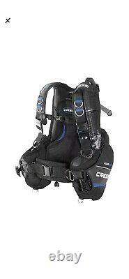 Cressi Aquaride Blue Pro Weight Integrated Scuba Diving BC Dive BCD Medium EUC