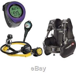 Cressi Solid Scuba Package + Mares Puck Pro Computer