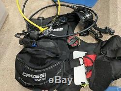 Cressi Start Large Complete Package For Scuba Diving, BCD, Regulator, Octopus