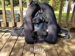 Cressi Sub BC / BCD Buoyancy Compensator Medium Scuba Dive Wing Rear Inflate