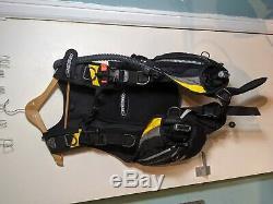 Cressi Sub Mens Travelight Ultra Light Scuba Diving Travel BCD Dive size Large