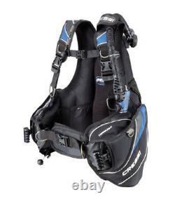 Cressi Sub Mens Travelight Ultra Light Scuba Diving Travel BC Dive BCD XL XLarge