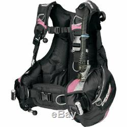 Cressi Sub Women's Travelight BCD Ultra Light Scuba Diving Travel BC Dive MD