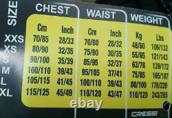 Cressi Tauchjacke Start Tauchweste Jacket, Schwarz, Größe XL, IC721704 NEU