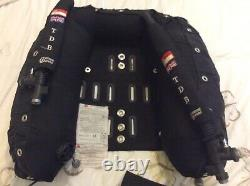 Custom Divers twin Backplate Wing setup