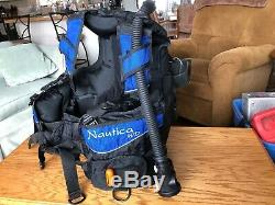 Dacor Nautica WR Scuba Dive BCD Integrated WithScubapro Air2, Womens XXLarge
