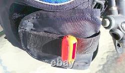 Dacor XTREMELLE Womens BC Black/Blue Size Medium EXCELLENT Condition SCUBA