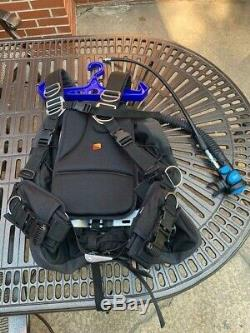 Dive Rite Extra Lg Transplate Package with Rec XT Wing and Atomic Aquatics SS1