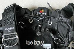 Dive Rite Nomad XT Side Mount Rig with Complete Harness System and Dual Bladder