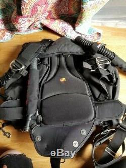 Dive Rite Nomad XT sidemount Harness System, Medium