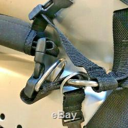 Dive Rite OMS Deluxe Ultimate Harness System with Backplate Plus Accessories