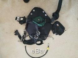 Dive Rite Sidemount Nomad LT BCD Slightly Used Good BDC Option