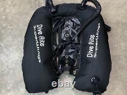 Dive Rite Super Wings Double Tanks Dual Bladder Tek Tech Wreck Diving Doubles