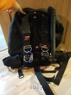 Dive Rite TransPac XT harness (large) with armored Voyager XT