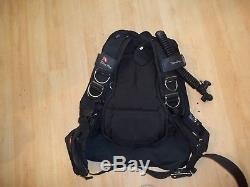 Dive Rite Transpac Harness with Venture Wing Bladder Size L for Scuba Diving