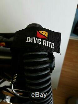 Dive Rite Transpac XT with Travel EXP Wing L As Pictured