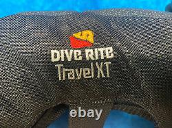 Dive Rite Travel XT Black Wing With 16 Inch Corrugated Hose