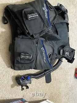 Diving Equipment Set (Seaquest BCD, Dive Computer And Regulator, Lights)