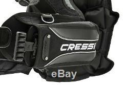 Gav Sub Jacket Cressi Patrol Taglia M Posteriore Tasche Pesi By Landisport
