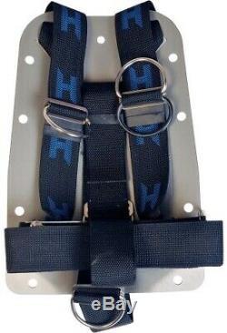 Halcyon Aluminium Backplate and Harness