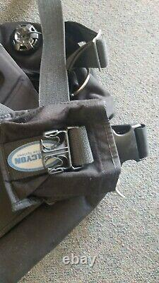Halcyon Dive Systems TRAVELER PRO 20 Divers B. C. WithWing & Backplate