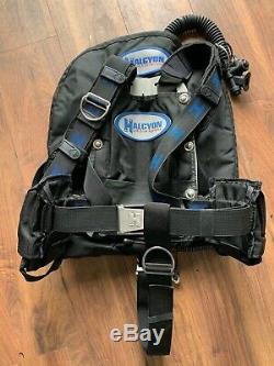 Halcyon Eclipse 40 Diving wing complete setup with harness Alu Backplate + Extras