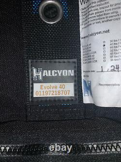 Halcyon Element Carbon 40 Backplate And Wing. (Used Only Twice)
