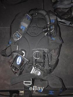 Halcyon Infinity Scuba Diving BCD and integrated weight system with SS backplate