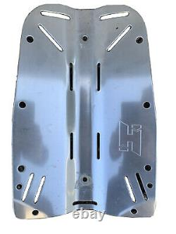 Halcyon Stainless Steel 5 pound Backplate